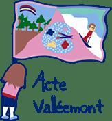 L'acte d'établissement Valléemont Logo